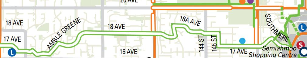 Ocean Park Bike Route Map